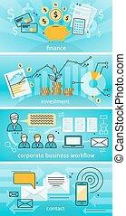 概念, 金融, ビジネス, 投資