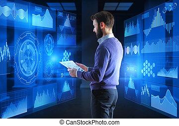 概念, 金融, analytics