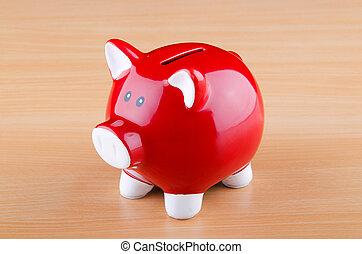 概念, 銀行, 小豚, ビジネス