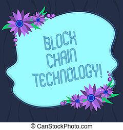 概念, 鎖, 色, テキスト, 形, ストアされた, ブランク, ボーダー, 平らでない, ネットワーク, distributed, 元帳, 執筆, デジタルビジネス, ads., 花, 単語, technology., 招待, カード, ブロック