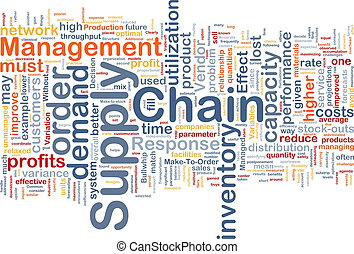 概念, 鏈子, 背景, 供應