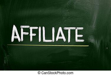 概念, affiliate
