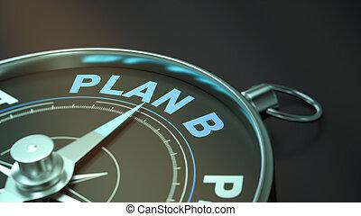 概念, b, 計画
