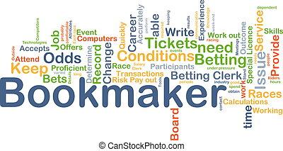 概念, bookmaker, 背景