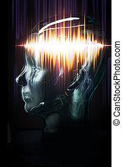 概念, brainwaves, テレパシー