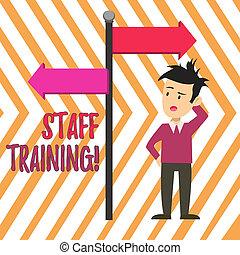 概念, direction., 指すこと, テキスト, 混乱させられた, 印, training., スタッフ, 知識, 流れ, 改良しなさい, 反対, 意味, 人, 役割, 特定, 矢, 学びなさい, 手書き, perforanalysisce, 側, 道