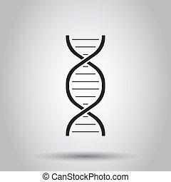 概念, dna, ビジネス, medecine, 分子, 隔離された, イラスト, バックグラウンド。, ベクトル, ...