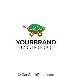 概念, eco, 自動車, ベクトル, デザイン, テンプレート, ロゴ