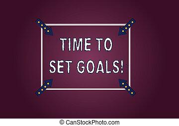 概念, goals., アウトライン, 指すこと, 切望された, 色, テキスト, 未来, 時間, 矢, バックグラウンド。, 意味, 三角定規, 達成しなさい, inwards, 目的, コーナー, 手書き, 望まれる