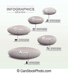 概念, infographic, デザイン, 精神, テンプレート
