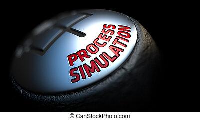 概念, knob., プロセス, シフトしなさい, simulation., influence.