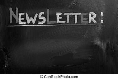 概念, newsletter