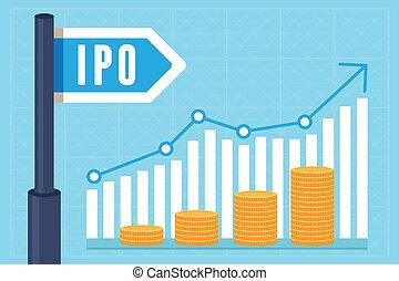 概念, offering), ipo, ベクトル, (initial, 公衆