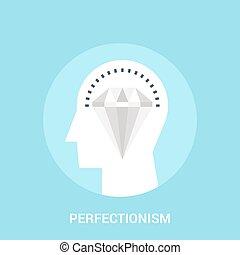 概念, perfectionism, アイコン