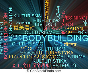 概念,  wordcloud, 發光,  multilanguage, 背景,  bodybuilding