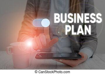 構造, 予測, 使うこと, 提出すること, 財政, 目的, 形式的, 女, 概念, スーツ, ビジネス戦略, 仕事, プレゼンテーション, 痛みなさい, plan., device., テキスト, 手書き, ウエア, ゴール, 意味