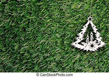 樅樹, 樹, 裝飾, 綠色, 背景, 聖誕節