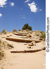 樓梯, 山, steps/