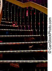 樓梯, 照明, 螺旋