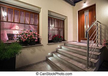 樓梯, 現代, 灰色
