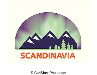 標簽, 風景, 斯堪的納維亞人