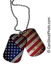 標識符號, 記號, 由于, 美國旗