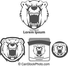 標識語, 憤怒, 熊