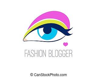 標識語, 時裝, blogger