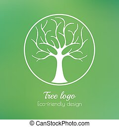 標識語, 樹
