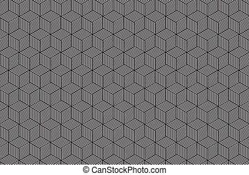 黑色 Pattern 白色 几何学 摘要 黑色 几何学 有条纹 矢量 背景 Pattern Illustration 白色 Canstock