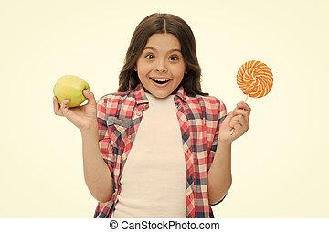 権利, アップル, happy., 味, 甘い, 私達, 選択肢, 女の子, 作りなさい, apple., fruit., 手掛かり, 同じ, 砂糖, choice., 選びなさい, 昼食, lollipop, 学校, キャンデー, 缶, concept., ∥あるいは∥