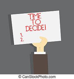 権利, ビジネス, 写真, 提示, 時間, いくつか, 執筆, 瞬間, alternatives., テキスト, 手, ∥間に∥, 概念, decide., 選択, 作りなさい