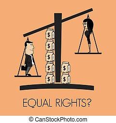 権利, 同輩