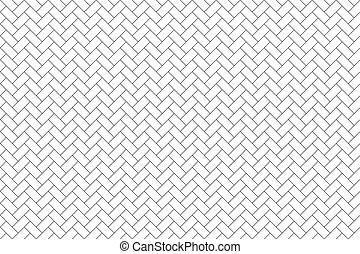 横, 寄せ木張りの床, seamless, 背景, 対角線