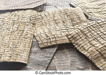 樹皮, 伝統的である, oliv, ulmoides, 中国語, medicine., eucommia