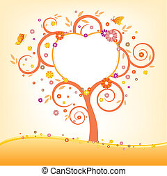 樹, 以及, 廣告欄