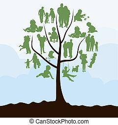 樹, 家庭