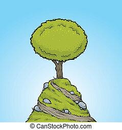 樹, 小山