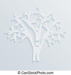 樹, ......的, 人們