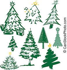 樹, 聖誕節, 彙整