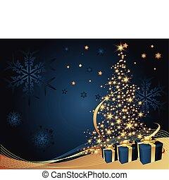 樹, 聖誕節, 背景