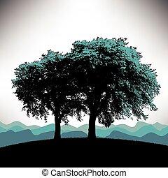 樹, 背景