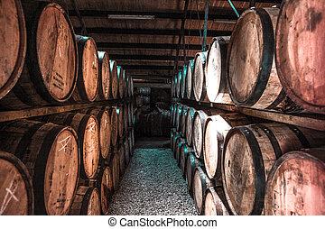 樽, ウイスキー