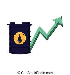 樽, ガソリン, 矢