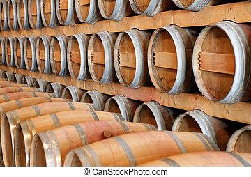 樽, ワイン醸造工場, ワイン