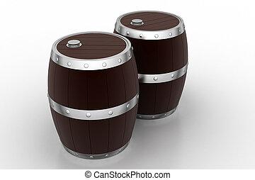 樽, ワイン