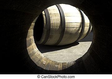 樽, 中で, 他, 見られた