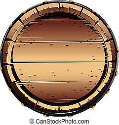 樽, 木製である, 古い