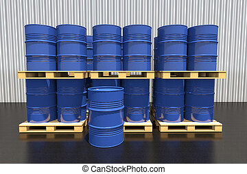樽, 産業, 金属, パレット, warehous, 燃料