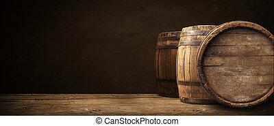 樽, 背景